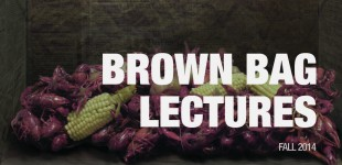 Brown Bag Lecture Series - Fall 2014